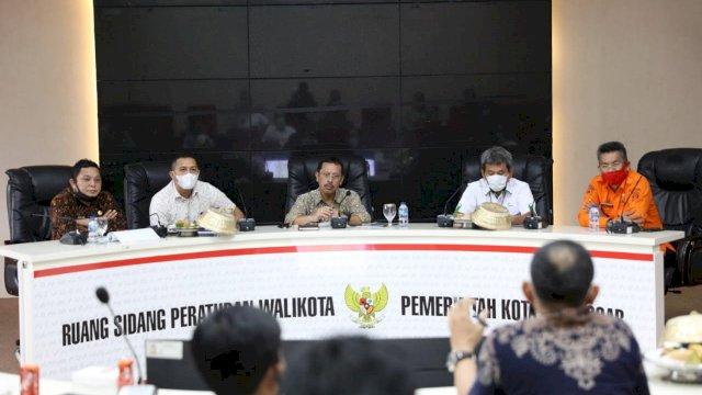 Pemkot Lakukan Rapat Koordinasi Pembangunan Tol MNP oleh Pelindo IV