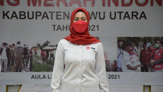 Indah Putri Indriani Diminta Kembali Pimpin PMI Luwu Utara