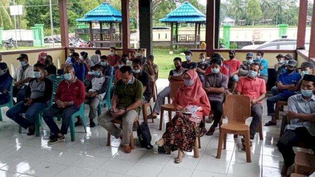 Bintek para ketua kelompok tani di Sinjai.