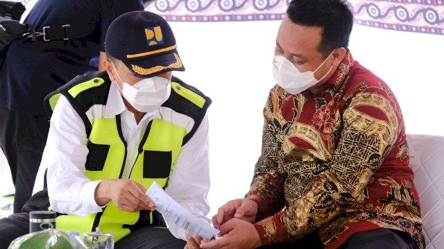 Plt Gubernur Pencanangan Jalan Rantepao – Batusitanduk Senilai Rp 49 M dari Rp 250 M Anggaran 2021 untuk Toraja