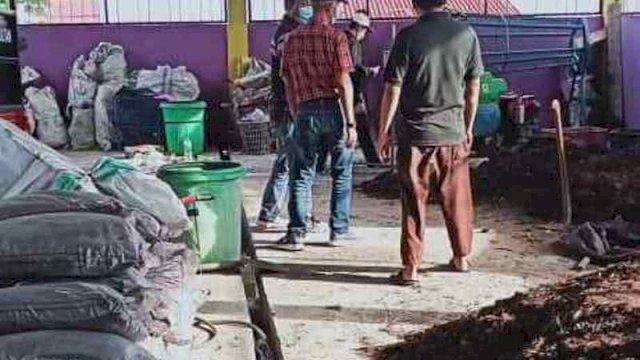 TPS 3R Desa Mulyorejo Kecamatan Sultan Kelola Sampah Jadi Pupuk Organik