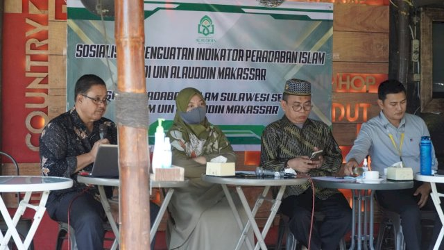 Pusat Peradaban Islam Sulsel LP2M UIN Alauddin Sosialisasi Penguatan Indikator Green Campus