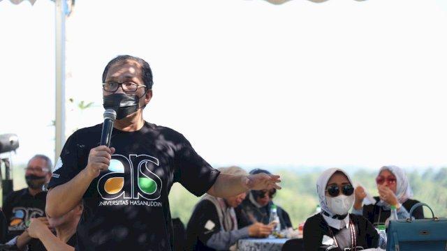 Temu Kangen IKATEK Unhas Danny Dukung Produk Hukum Lindungi Hasil Karya Cipta Arsitek