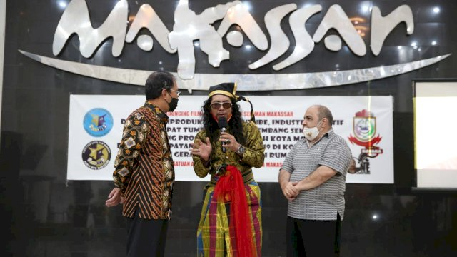 Danny Ajak Produser Dan Insan Perfilman di Kota Makassar Produksi Film Daerah