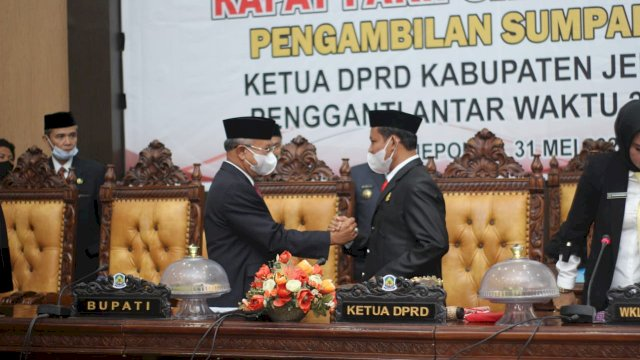 Ketua DPRD Jeneponto Diganti, Ini PAW-nya