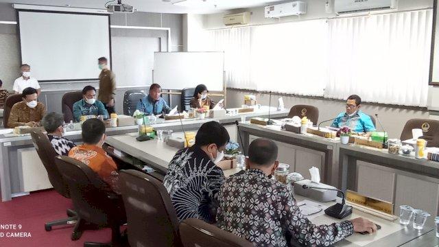 Bahas Pengalihan Status Jalan, Wabup Enrekang Rapat Bersama Komisi D