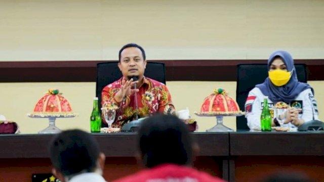 Ketua DPRD Sulsel Andi Ina Kartika Sari Bersama Plt GUbernur Sulsel Saat Bertemu Dengan Suporter PSM