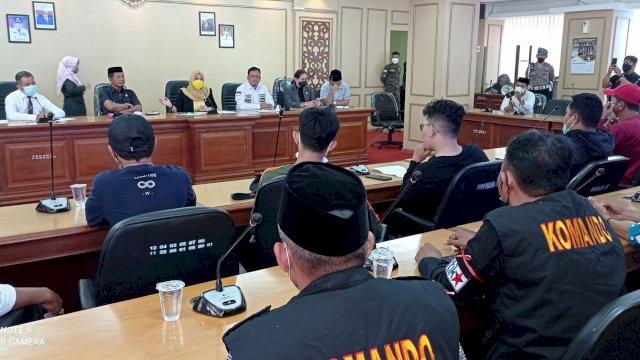 Dihadapan Suporter PSM, Ketua DPRD: Stadion Mattoangin Wajib Dibangun