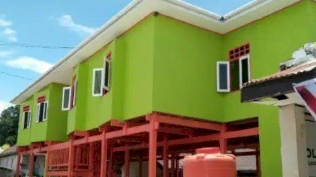 Rumah Dinas Medis yang Bangun Pemda Sinjai di Pulau Sembilan Mulai Difungsikan