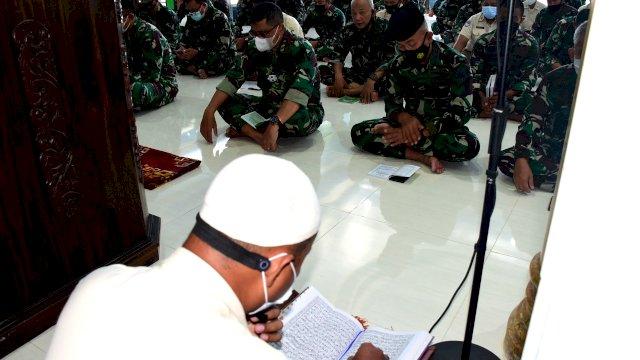 40 Hari Tenggelamnya KRI Nanggala-402, Lantamal VI Makassar Gelar Doa Bersama Serentak