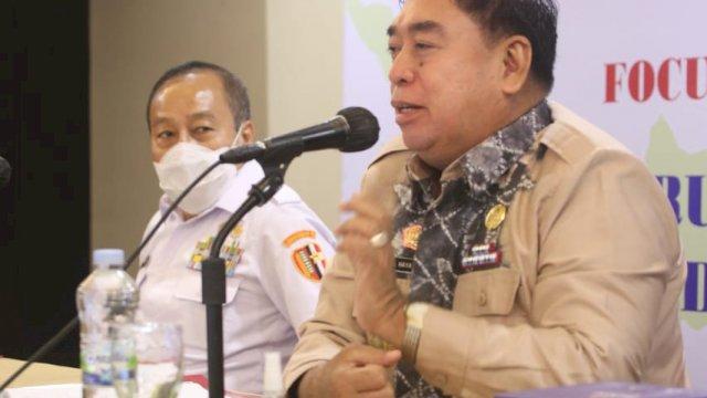Sekretaris Provinsi Abdul Hayat Gani