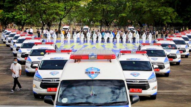 Resmi di Launching, 17 Unit Mobil Covid Hunter Siap Putus Penyebaran Covid 19
