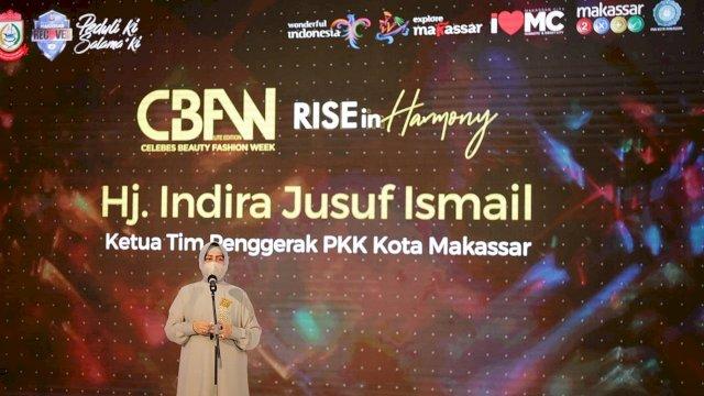 Ketua TP PKK Makassar Resmi Buka Celebes Beauty Fashion Week