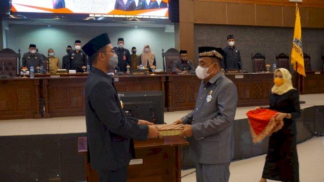 Bupati ASA bersama Ketua DPRD Sinjai.