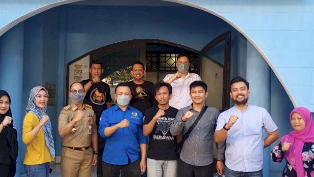 Sinergi dengan Pemkot, Kadispora Kunjungi Sekretariat KNPI Makassar