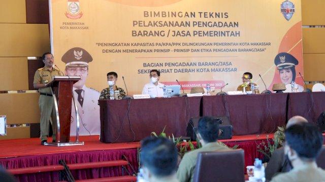 Pemkot Makassar Gelar Bimbingan Teknis Pelaksanaan Pengadaan Barang dan Jasa