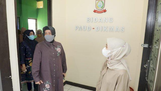 Indira Yusuf Ismail Lakukan Peninjauan ke Sejumlah Paud dan TK di Kota Makassar