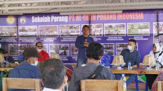 DPRD Sulut Belajar Cocok Tanam Porang di Sidrap