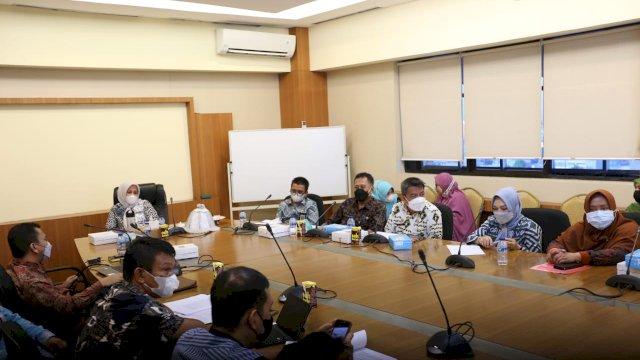 Rapat Tindak Lanjut LHP BPK Fatmawati Targetkan Tahun Depan Pemkot Makassar Raih WTP