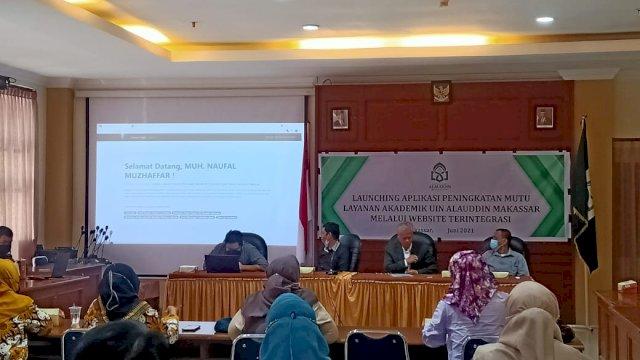 UIN Alauddin Luncurkan Pelayanan Akademik Berbasis Online Terintegrasi