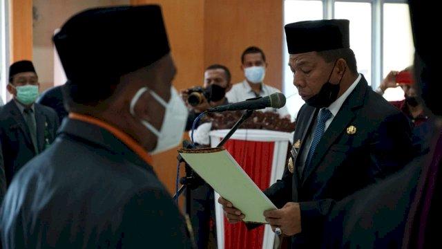 Bupati Bulukumba Andi Muchtar Yusuf Melantik 268 Pejabat Struktural Lingkup Pemda Kabupaten Bulukumba