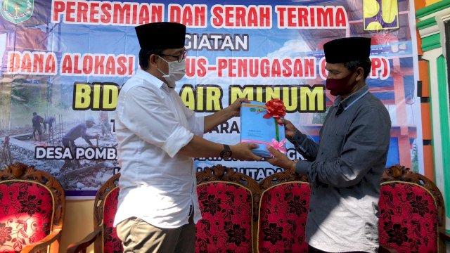 Warga Desa Pombakka Malangke Barat Kini Nikmati Air Bersih Program Pamsimas