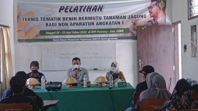 Dinas Pertanian Luwu Bekali Petani Jagung Dengan Pelatihan Teknis Tematik
