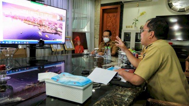 Di Hadapan Kemenko Perekonomian, Danny Lelang Investasi Bangun PLTSa di TPA Antang