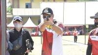 Bupati ASA Tunjukkan Keahlian Menembaknya dalam Kejuaraan Kapolda Sulsel CUP IX dan Pra Porprov 2021