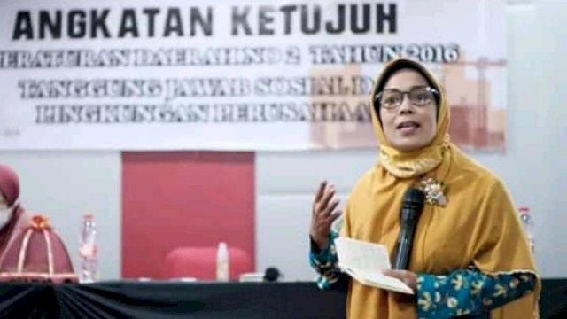 Anggota DPRD Makassar, Yeni Rahman, (Dokpri).
