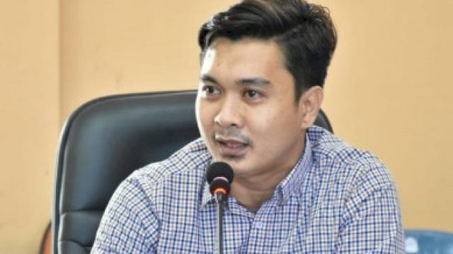 Anggota DPRD Sinjai, Muhammad Wahyu. (dokpri).
