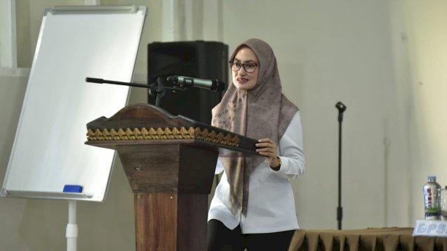 Bupati Luwu Uara Indah Putri Indriani Memberikan Arahan Kepada 80 CPNS