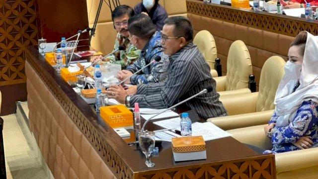 Di Depan Menteri PUPR, Muhammad Fauzi: Infrastruktur Sulsel III Memprihatinkan