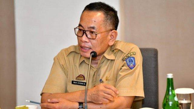 Kepala Dinas Kesehatan Provinsi Sulawesi Selatan yang juga Ketua IDInSulsel DR. Ichsan Mustari