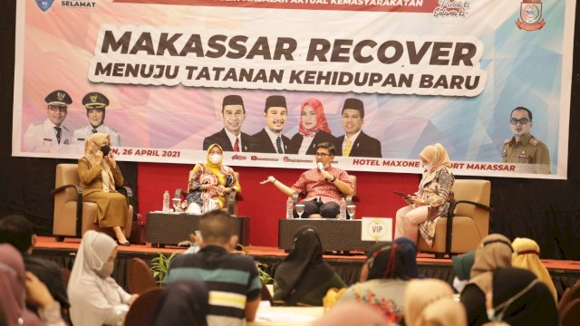 DPRD Dukung Penuh Program Makassar Recover