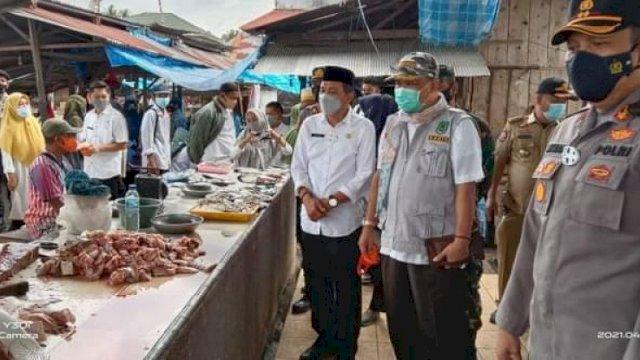 DP2KUKM Sidak Pasar, Segini Perbandingan Harga di Hari Kedua Ramadan