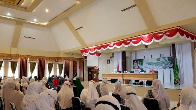 Utara - Badan Kontak Majelis Taklim (BKMT) Kabupaten Luwu Utara menggelar kegiatan Musyawarah Daerah (Musda) yang ke empat, Rabu (28/4) di Aula La Galigo.