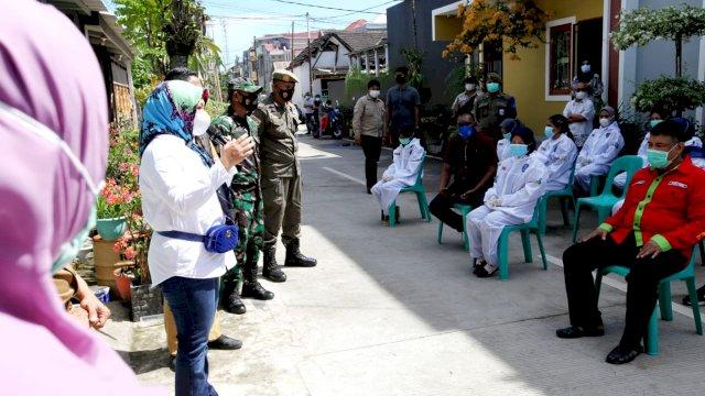 Wakil Walikota Makassar, Fatmawati Rusdi Meninjau Langsung Kesiapan Tim Detektor