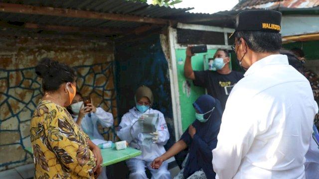 Hari ini resmi tim detektor Makassar Recover beroperasi ke rumah-rumah warga.