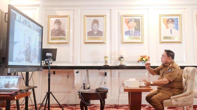 Sekretaris Daerah Provinsi Sulawesi selatan Abdul Hayat Gani