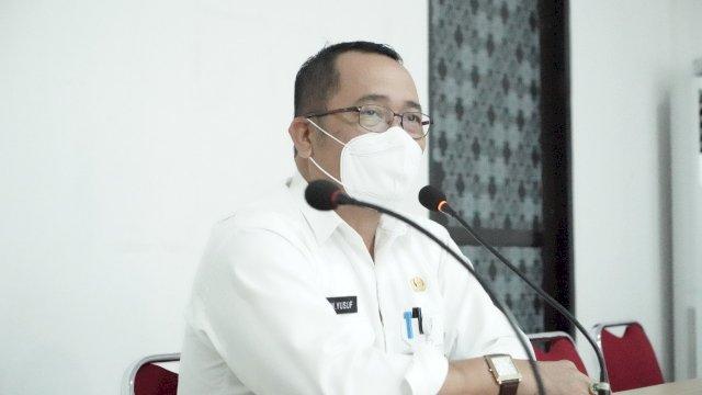 Pemerintah Kabupaten Luwu melalui Badan Perencanaan Perencanaan Pembangunan dan Litbang Daerah (Bappelitbangda), menggelar rapat koordinasi dengan para Kepala OPD di ruang rapat kantor Bappelitbangda, Kamis (15/7/2021).