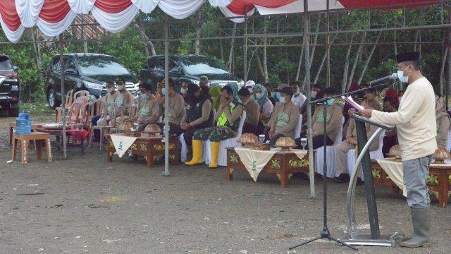 DLHK Sinjai Gelar Kampanye Lingkungan, Bupati ASA Harap Anak muda Jadi Ujung Tombak Konservasi Mangrove