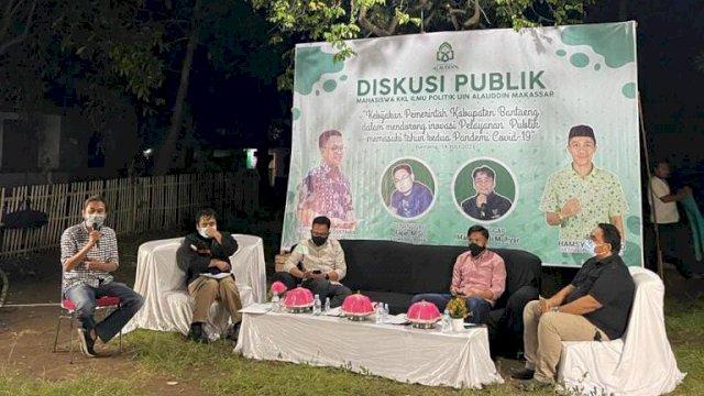 Kepada Mahasiswa KKL Ilmu Politik UIN, Ketua DPRD Bantaeng: Pandemi bukan Penghalang untuk Berinovasi