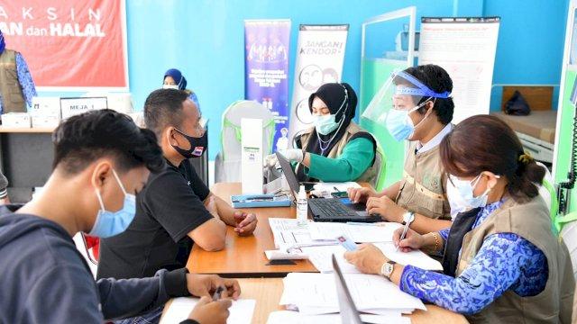 Badan Pusat Statistik (BPS) Sulawesi Selatan (Sulsel) memaparkan hasil penghitungannya terkait dengan perkembangan ekonomi Sulsel pada triwulan pertama di tahun 2021.
