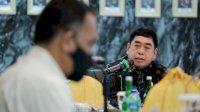 Sekprov Abdul Hayat Gani Rakor Bersama Forkopimda Bahas PC-PEN dan Bansos