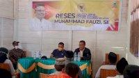 Warga Rongkong Minta Anggota DPR RI Perjuangkan Perbaikan Daerah yang Rawan Longsor
