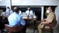 Bertemu Walikota Danny, PHRI Siap Terapkan Disiplin PPKM Darurat Level IV