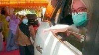 Respon Pandemi, Pegawai Kominfo Lutra Rayakan Pernikahaan Konsep 'Drive Thru'