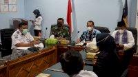 TNI AL Dukung Program Wajib Vaksin Covid – 19 Di Area Pelabuhan Makassar