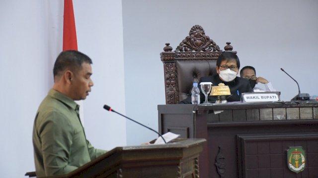 DPRD Kabupaten Luwu Utara resmi menetapkan Rancangan Peraturan Daerah (Ranperda) Kabupaten Luwu Utara tentang Pertanggungjawaban Pelaksanaan APBD Tahun Anggaran 2020 menjadi sebuah Peraturan Daerah (Perda).